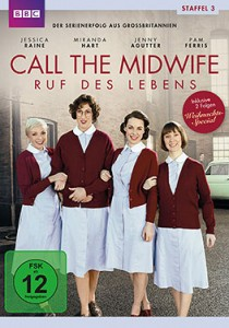 Call the Midwife - Ruf des Lebens - Staffel 3 - DVD-Cover