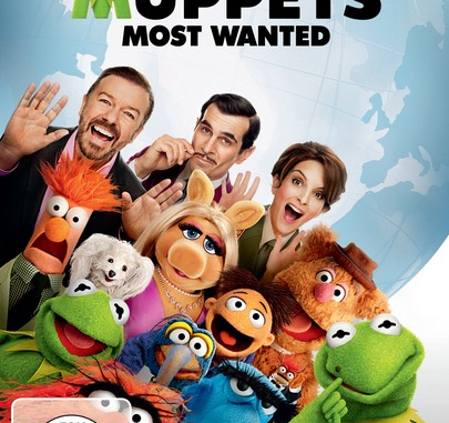 DVD-Cover Muppets Most Wanted