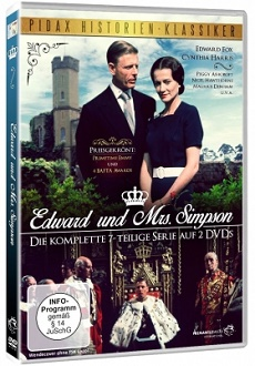 Edward und Mrs. Simpson - DVD-Cover - Pidax