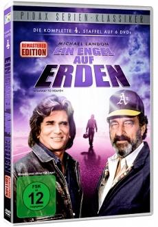 Ein Engel auf Erden - Staffel 4 - DVD-Cover - Pidax