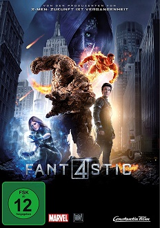 Fantastic Four - DVD-Cover - Constantin Film