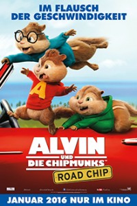 Alvin und die Chipmunks - Road Chip - Plakat - 20th Century Fox