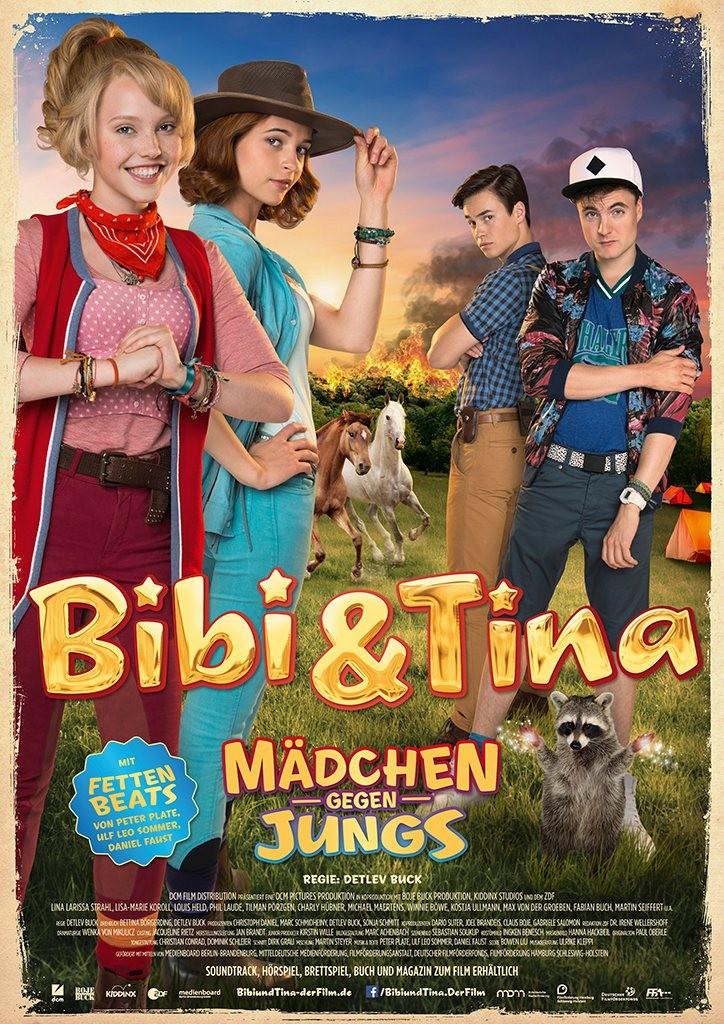 Bibi & Tina - Mädchen gegen Jungs - Plakat - DCM