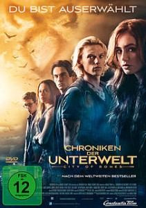 Chroniken der Unterwelt - City of Bones - DVD-Cover - Constantin Film