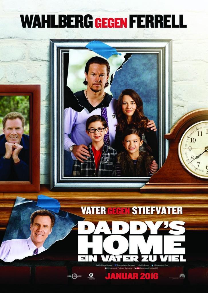Daddy's Home - Ein Vater zu viel - Plakat - Paramount Pictures