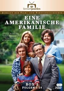 Eine amerikanische Familie - Box 1 - DVD-Cover - Fernsehjuwelen