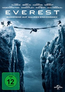Everest - DVD-Cover - Universal Pictures Home Entertainment