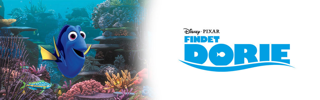 Findet Dorie - Logo - Walt Disney Studios