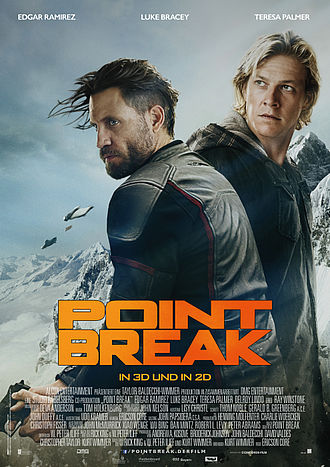 Point Break - Plakat - Concorde Filmverleih