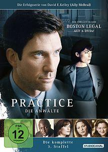 Practice - Die Anwälte - Staffel 3 - DVD-Cover