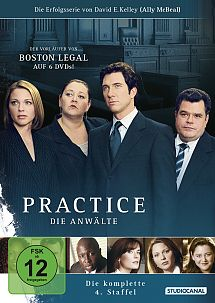 Practice - Die Anwälte - Staffel 4 - DVD-Cover