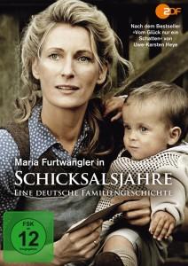 Schicksalsjahre - Eine deutsche Familiengeschichte - DVD-Cover