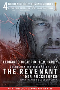 The Revenant - Der Rückkehrer - Filmplakat