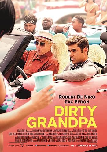 Dirty Grandpa - Filmplakat - Constantin Film