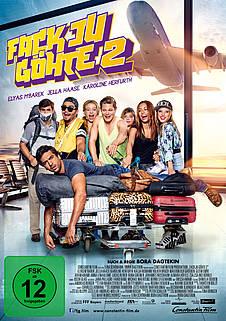 Fack Ju Göhte 2 - DVD-Cover - Constantin Film