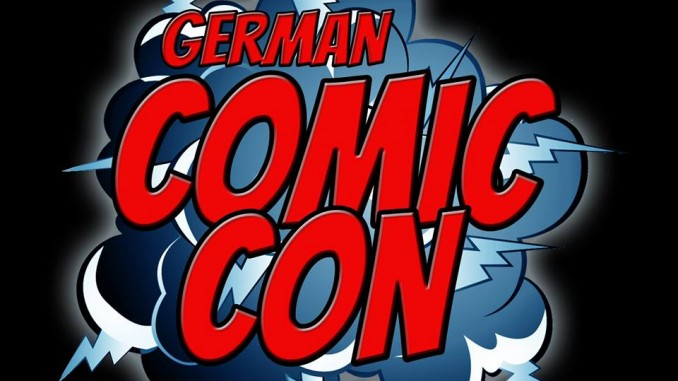 German Comic Con Logo