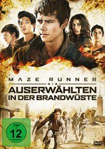 Maze Runner 2 - Die Auserwählten in der Brandwüste - DVD-Cover