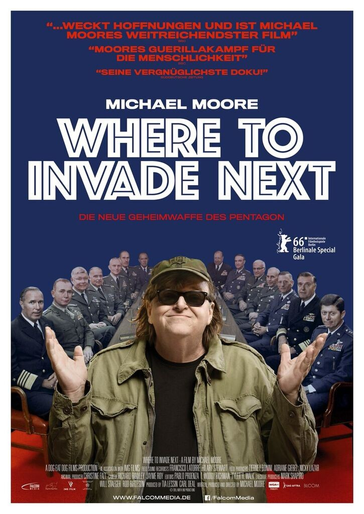Where to invade next - Plakat - Falcom Media