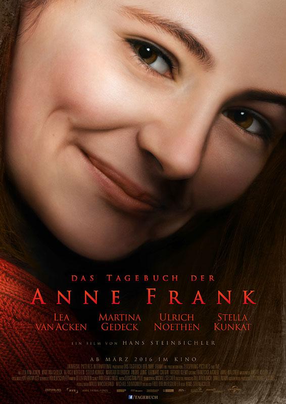 Das Tagebuch der Anne Frank - Kinoplakat - Universal Pictures