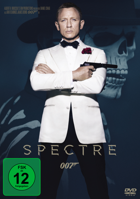 James Bond 007 - Spectre - DVD-Cover
