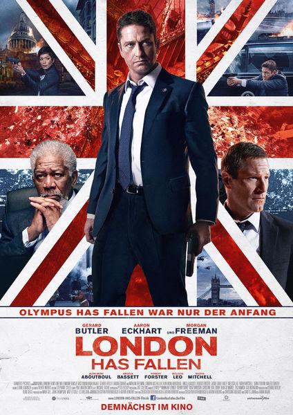 London has fallen - Kinoplakat - Universum Film