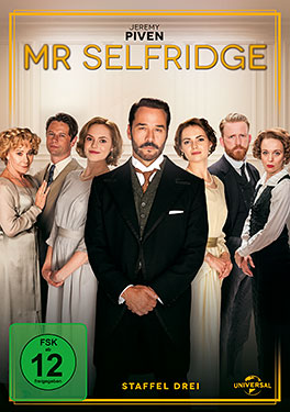 Mr. Selfridge - DVD-Cover - Universal Pictures