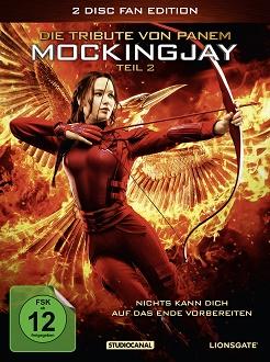 Die Tribute von Panem - Mockingjay - Teil 2 DVD-Cover - Studiocanal