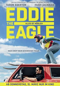 Eddie the Eagle Plakat