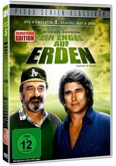 Ein Engel auf Erden - Staffel 5 DVD-Cover - Pidax