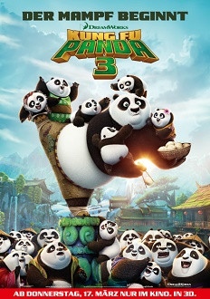 Kung Fu Panda 3 Plakat - DreamWorks Animation LLC