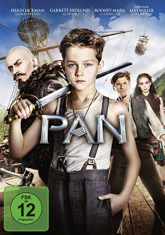 Pan DVD-Cover - Warner Home Video