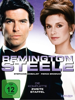 Remington Steele - Staffel 2 DVD-Cover - Capelight