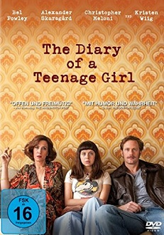 The Diary of a Teenage Girl DVD-Cover - Sony Pictures Home Entertainment