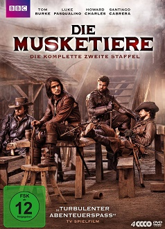 Die Musketiere - Staffel 2 DVD-Cover - polyband
