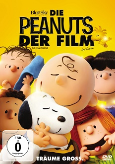 Die Peanuts - Der Film DVD Cover - 20th Century Fox Home Entertainment