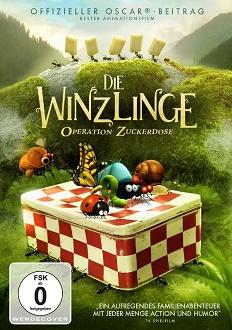Die Winzlinge - Operation Zuckerdose DVD-Cover - Pandastorm Pictures