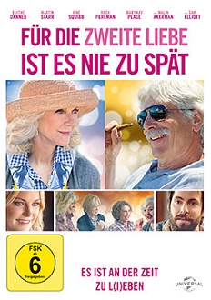 Für die Liebe ist es nie zu spät DVD-Cover - Universal Pictures