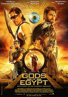 Gods of Egypt Plakat - Concorde Filmverleih