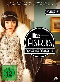 Miss Fishers mysteriöse Mordfälle - Staffel 2 DVD-Cover - polyband