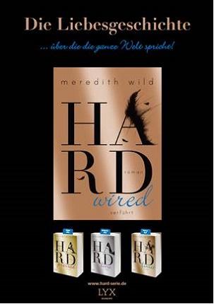 Plakat - LYX - Hard-Serie von Meredith Wild
