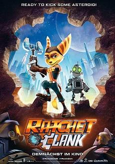 Ratchet und Clank Plakat - Constantin Film