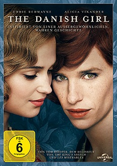 The Danish Girl DVD-Cover - Universal Pictures