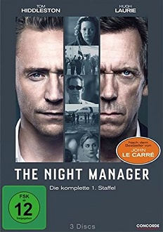 The Night Manager DVD-Cover - Concorde Home Entertainment