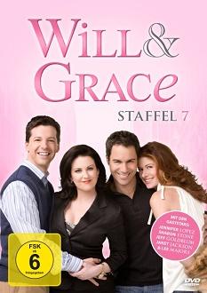 Will & Grace - Staffel 7 DVD-Cover - Koch Media