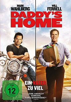 Daddy's Home - Ein Vater zu viel DVD-Cover - Universal Pictures Home Entertainment