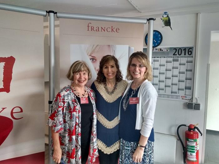 Francke-Autorenfestival 2016 mit Irma Joubert, Lisa Wingate und Karen Witemeyer - klein
