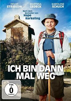 Ich bin dann mal weg DVD-Cover - Warner Home Video