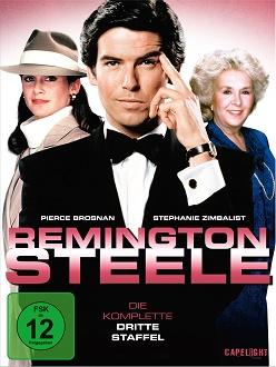 Remington Steele - Staffel 3 DVD-Cover - Capelight Pictures