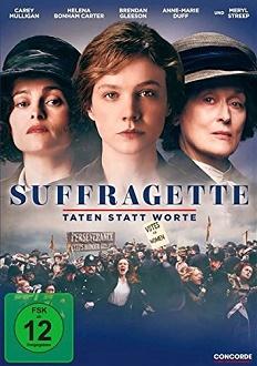 Suffragette - Taten statt Worte DVD-Cover - Concorde
