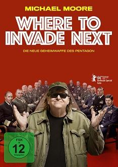 Where to Invade Next DVD-Cover - Falcom Media